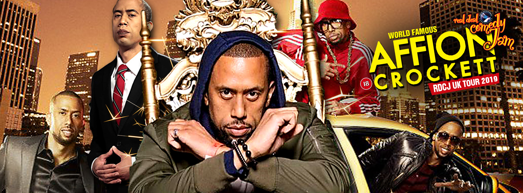 Affion Crockett, Wild N Out, Kevin Hart, UK tour, comedy tour